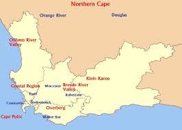 S-Africa wine regions